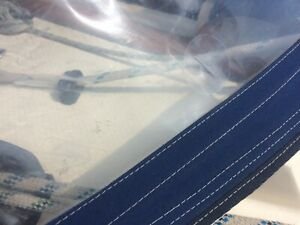 Spray Hood, Tent, Awning Window repair patch set - Transparent window patches