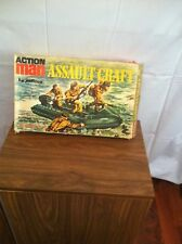 VINTAGE ACTION MAN ASSAULT CRAFT 70TH IN BOX