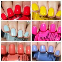 China Glaze Nail Polish BRIGHTS, LIGHTS AND NEONS & SUMMER 2016 COLLECTION!!