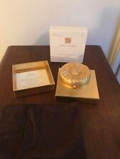 ESTEE LAUDER Golden Leo Compact Lucidity Pressed Powder New In Box