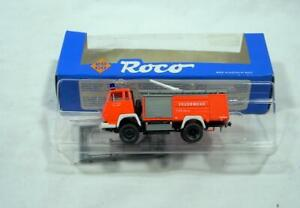 HO Scale 1:87 Roco Fire Truck/Engine Pump #1312 Steyr 91 New in Box