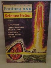 The Magazine of Fantasy and Science Fiction April 1962