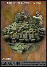 Evolution miniatures 1/35 #35115 crew of the Russian T-72 Tank