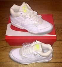 BNWB RARE NIKE AIR TECH CHALLENGE III ANDRE AGASSI UK 9.5 WHITE VOLT SILVER