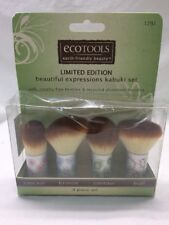 Ecotools Limited Edition Beautiful Expression Kabuki 4-Piece Set Damaged Box C9C