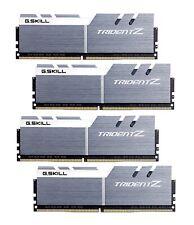 32GB G.Skill DDR4 Trident Z 3600Mhz PC4-28800 CL16 White/Gray Quad Kit (4x8GB)