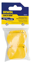 IRWIN Tools QUICK-GRIP Replacement Pads for One-Handed Mini Clamps 4 Pack