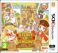Story of Seasons trio of towns - Nintendo 3DS - Neuf sous blister - FR