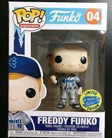 Funko Pop Freddy Funko #04 Aquasox Funko Field Baseball