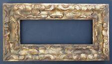 Italienischer Rahmen,Bologna,um 1800,geschnitzt,vergoldet
