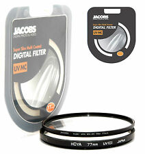 Jacobs Super Slim Uv Multi Coated Mc Filtro 77mm Para Nikon Canon Sony Nuevo