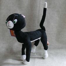 Mittens The Black Cat from The Bolt  PLUSH DOLL Bendable Legs 8""