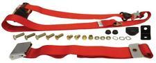 Type 2 BAY ceinture de sécurité devant l'inertie Chrome Boucle Bench rouge - 211857691 CRED