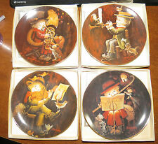 4 Schmid Music Makers Plates w/box & Coa