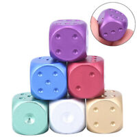1pc 16mm Round Metal Dice Aluminum Club Bar Drinking Playing Game TooTS  *TRFR