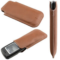 caseroxx Business-Line Case for Nokia 1100 / 1600 in brown made of faux leather
