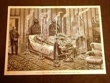 Stradella nel 1887 Camera mortuaria Agostino Depretis De Pretis di Mezzana Corti