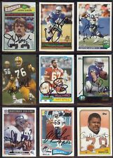 JERRY SHERK Cleveland Browns - Oklahoma State 1977 Topps SIGNED / AUTOGRAPH Card