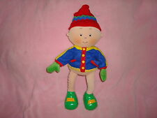 """Caillou winter Edition 2002 15"""" Plush wired Pose-able, bendable"""