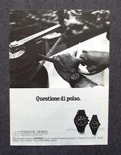G281-Advertising Pubblicità - 1981 - PORSCHE DESIGN MOD.7176 , MOD. 7050
