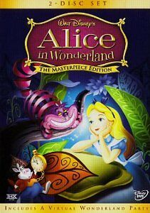 Like New DVD Alice in Wonderland (Masterpiece Edition) (1951) DISNEY CLASSIC