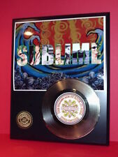 Sublime - 24k Gold Record Display Limited Edition Free Priority Shipping In USA