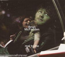 BRIAN McFADDEN - Real To Me (UK 4 Trk Enh CD Single Pt 2)