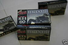 Maxell XLII-S 100 Audio Cassette Tapes New Factory Seal Lot