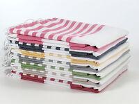 LILY Turkish Towel Peshtemal Sarong Bath SPA Beach Hamam Gym 100% Cotton