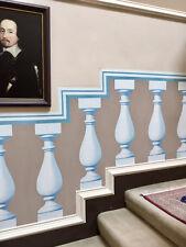 Wallpaper Trompe L'oeil Ballustrades