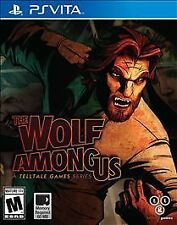 The Wolf Among Us PlayStation PS Vita Brand New Free Ship