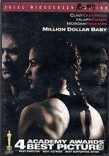 MILLION DOLLAR BABY DVD  2-disc WS Clint Eastwood, Morgan Freeman 8.1 IMDb