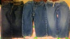 3 Pairs Of Jeans Size 18-24 Months, Wrangler, The Children's Place, Est 1989
