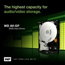 "Western Digital 2TB AV-GP 3,5"" (WD20EURX) 64MB SATA-600 IntelliPower Festplatte"