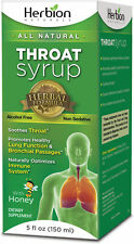 Throat Syrup by Herbion, 5 oz Regular