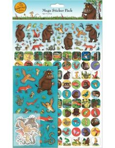 THE GRUFFALO Mega Pack of Stickers, Loads of Different Stickers A4 Size