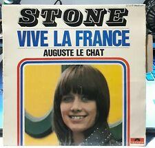 """STONE - """"VIVE LA FRANCE"""" + 3 - EP de 1967 avec LANGUETTE  ( Titre de Gainsbourg)"""