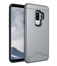 Samsung Galaxy S9 / S9 Plus Shockproof Armor Card Slot Kickstand Heavy Duty Case
