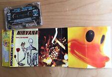 NIRVANA - Incesticide MC 1992 RARE 1'ST POLISH PRESS