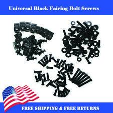 New Black Fairing Bolt Kit Body Screws Fit for Motorcycle Bike Universal Kit a01