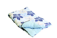 Sleeping Bag King Size Fleur 60ozs Polymicro Hollowfibre Caravan Duvet