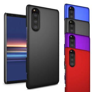 For Sony Xperia 5 (2019)Case- Ultra Slim Hard Case Thin Hybrid Armour Back Cover