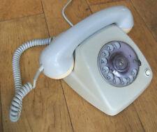 VINTAGE TéLéPHONE à CADRAN BELL MFG COMPANY-BELGIQUE 60 70