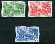 STAMP / TIMBRE FRANCE NEUF SERVICE N° 82/84 ** CONSEIL DE L'EUROPE ARCHITECTURE