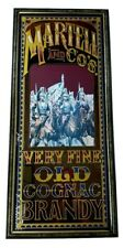 """Vintage Martell & Co'S Old Very Fine Old Cognac Brandy 38"""" x 18"""" Mirror Sign"""