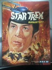 Hardcover Star Trek Annual 1977 Comic Excellent Condition