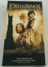 Vhs Lord of the Rings The Two Towers 2001 Peter Jackson Elijah Wood Liv Tyler