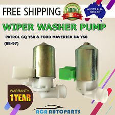 Wiper Washer Pump For Nissan GQ Y60 Patrol 2.8 Turbo Diesel Wagon 95-97 6Cyl