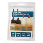 NEW Walthers Lubricant Set/Light/Medium/Gear/Grease HO Scale FREE US SHIP