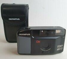 Olympus Trip MD 3 Point & Shoot Compact Film Camera & Case 34mm Lens Lomo Retro